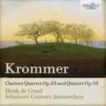 Krommer clarinet quartet album